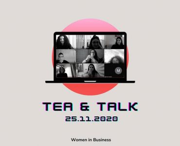 Pınar Başman Süren Met With ODTÜ Students In Tea&Talk Chats On Digital Platform